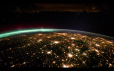 View of Earth from the International Space Station (ISS), courtesy of NASA.