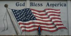 Video Test: American Flag Mural, Plain City, Ohio